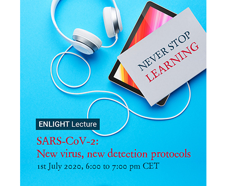Enlight Lecture: SARS-CoV-2: New virus, new detection protocols